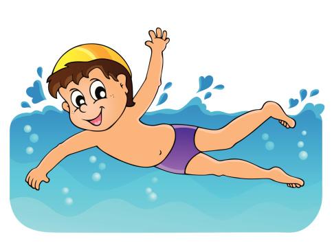 Image result for plavání animované